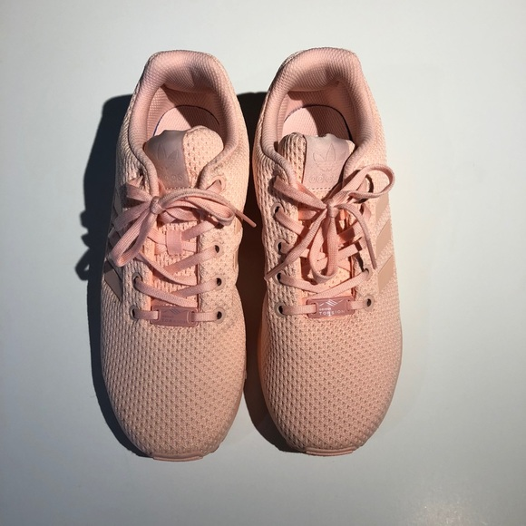 size 40 a0982 a512a Pink Adidas ZX Flux Sneakers